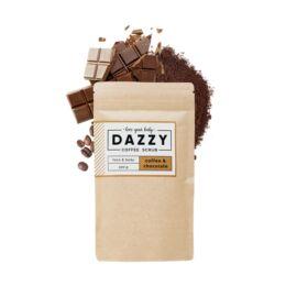 Dazzy kávés arc és testradír - csokoládés 200 g
