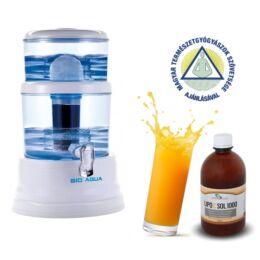 Vízszűrő torony rendszer 20 literes + Ajándék 250 ml Lipo C Sol 1000