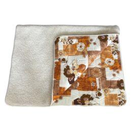 Gyapjú / pamut takaró 130 x 200 cm