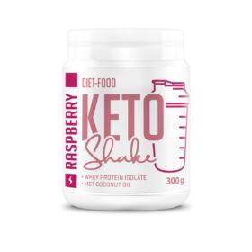 Diet Food Keto Shake Málnás italpor (ketogén diétához) 300 g