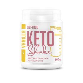 Diet Food Keto Shake Vaníliás italpor (ketogén diétához) 300 g