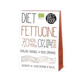 Diet Food Bio Shirataki gluténmentes Konjac tészta Fettuccine (Széles metélt) 300 g