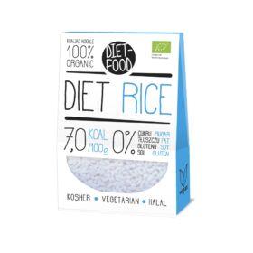 Diet Food Bio Shirataki gluténmentes Konjac tészta Rizs 300 g