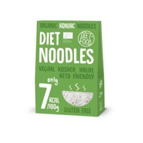 Gluténmentes konjac tészta - noodles