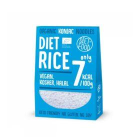Gluténementes Konjac tészta - rizs