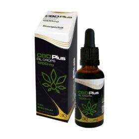 Energovital CBD Olaj Plus Full Spectrum 4% (1200 mg) 30 ml