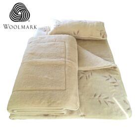 Gyapjú ágynemű garnitúra bambusz mintás + Ajándék!