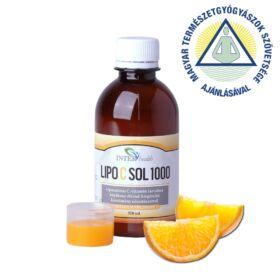 Interhealth LipocSol 1000 folyékony liposzómás C vitamin 250 ml