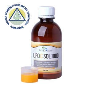 InterHealth Lipo C Sol 1000 folyékony liposzómás C vitamin 500 ml + Választható Ajándék!
