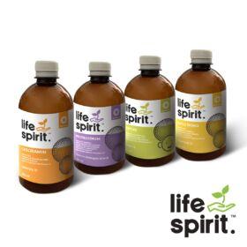 Life Spirit tetszőleges 4 db-os liposzómás étrendkiegészítő csomag