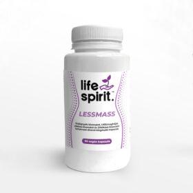 Life Spirit Lessmass Ördögnyelv kivonat, Utifűmaghéj, Zöldtea és Zöldkávé tartalmú étrendkiegészítő kapszula 90 db