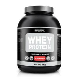 Marathontime Tejsavó fehérje (eper ízű) 3 kg