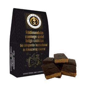 Naja Forest Süngombás Földi mandulás csemege szeletek belga csokiban (14 szelet)
