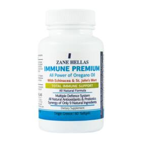 Zane Hellas Immune Premium lágyzselatin kapszula 60 db