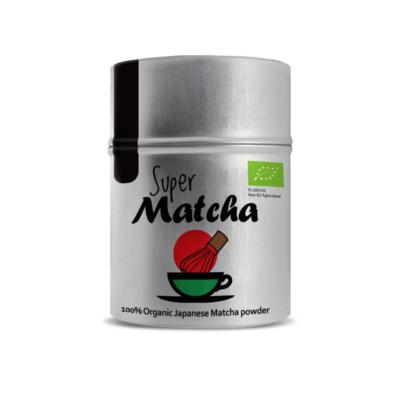 Diet Food Bio Super Matcha tea (Zöld Matcha Bio Tea) 40 g - Rövid lejárati idő!
