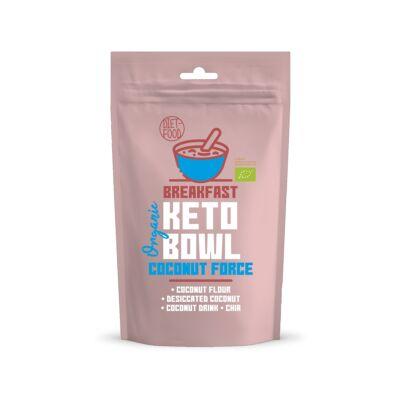 Diet Food Keto Bowl Ketogén reggeli Coconut Force 200 g