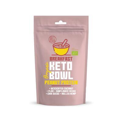 Diet Food Keto Bowl Ketogén reggeli Peanut Protein 200 g