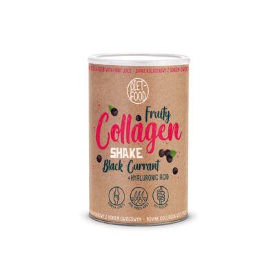 Diet Food Fruity Collagen Shake Black Currant - Fekete ribizlis 300 g