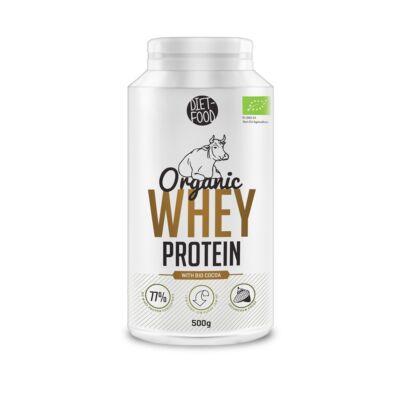Diet Food bio tejsavó fehérje kakaóval 500 g