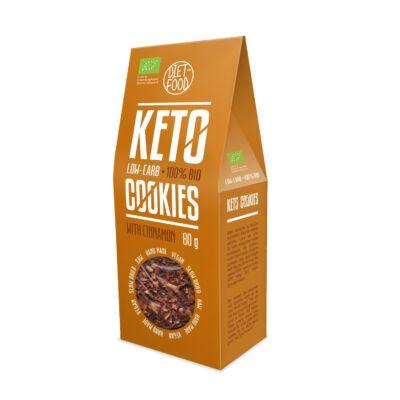 Diet Food Bio Ketogén keksz fahéjas 80 g