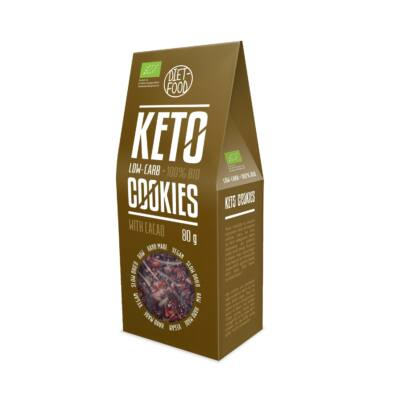 Diet Food Bio Ketogén keksz csokoládés 80 g