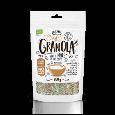 Diet Food Bio granola olajos magvakkal 200 g