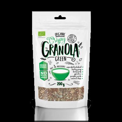 Diet Food Bio granola zöld 200 g