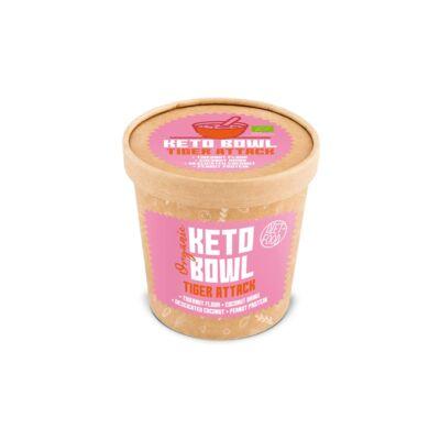 Diet Food Keto Bowl Ketogén reggeli Tiger Attack csészés 70 g
