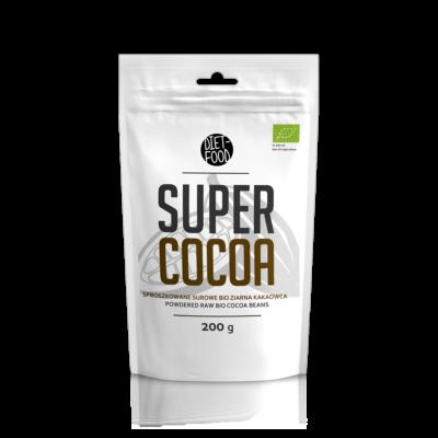 Diet Food Bio Kakaó por (Cocoa) 200 g