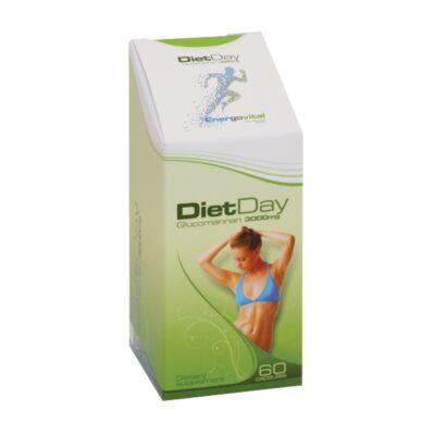 Energovital Diet Day Glükkomannán kapszula