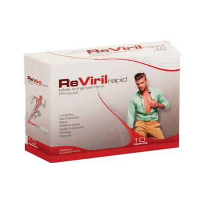 Energovital ReViril Rapid férfi potencianövelő kapszula 10 db