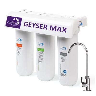 Geyser Max pult alá szerelhető vízszűrő berendezés