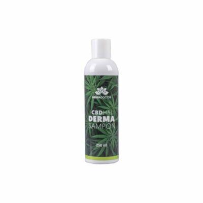 HerbaDoctor CBD hajsampon DERMA 250 ml