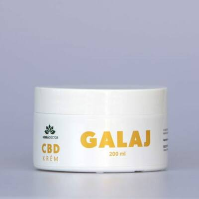 HerbaDoctor CBD krém GALAJ 200 ml