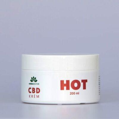 HerbaDoctor CBD krém HOT 200 ml
