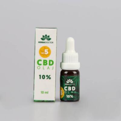 HerbaDoctor 10 %-os CBD NO5 10 ml