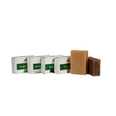 HerbaDoctor Kávés kecsketejes szappan mentával és eukaliptusszal