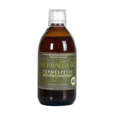 """HerbaClass természetes növényi kivonat - """"40"""" 500 ml"""