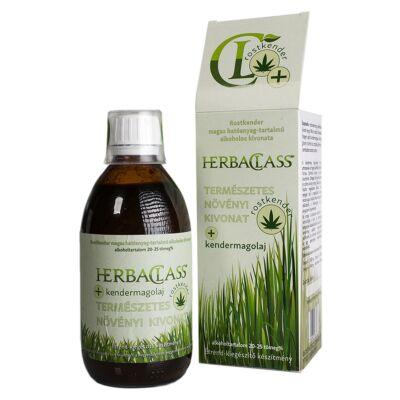HerbaClass természetes növényi kivonat - rostkender + kendermagolaj 300 ml