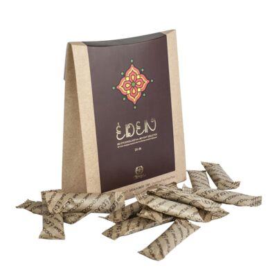 HUMINIQUM étcsokoládéval bevonva - Éden BIO csokoládé szeletek 28 db