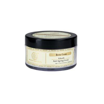 Khadi Natural Anti Ageing Ayurvédikus Bőrfiatalító krém 50 g