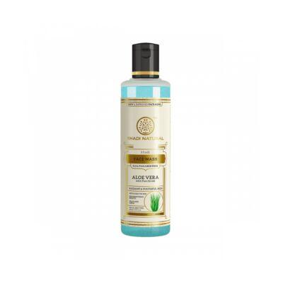 Khadi Natural Face Scrub Ayurvédikus Aloe Vera Bőrradír Hatású Arclemosó 210 ml