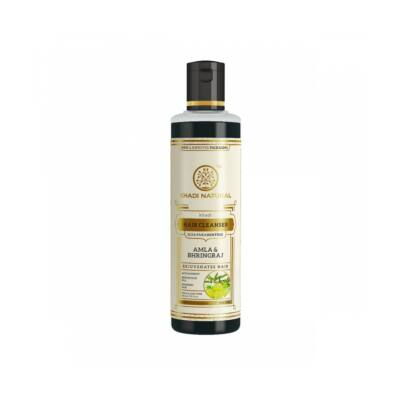 Khadi Natural Ayurvédikus Amla Bhringraj Sampon 210 ml (SLS, Paraben Free)