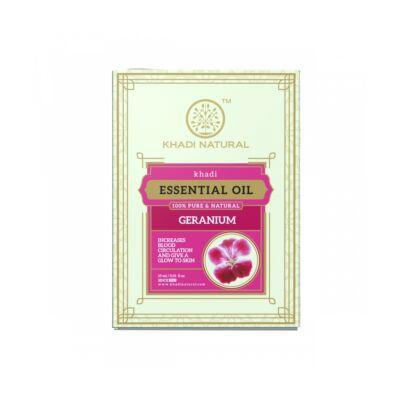 Khadi Natural Ayurvédikus Tiszta Geránium Illóolaj 15 ml