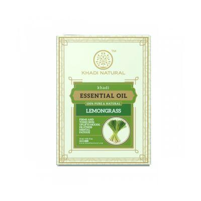 Khadi Natural Lemongrass Tiszta Citromfű Illóolaj 15 ml