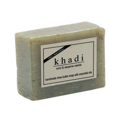 Khadi Natural Szezámmagos Menta Szappan 100 g