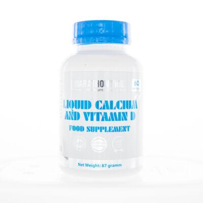 Marathontime Folyékony kalcium és D-vitamin lágyzselatin kapszula 60 db