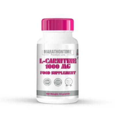 Marathontime L-karnitin 1000 mg étrend-kiegészítő tabletta 30 db
