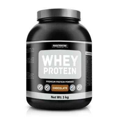 Marathontime Tejsavó fehérje (csokoládé ízű) 3 kg