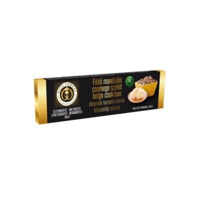 Naja Forest Földimandulás csemege szelet belga csokiban, süngomba hozzáadásával és kókuszvirág cukorral 20 g